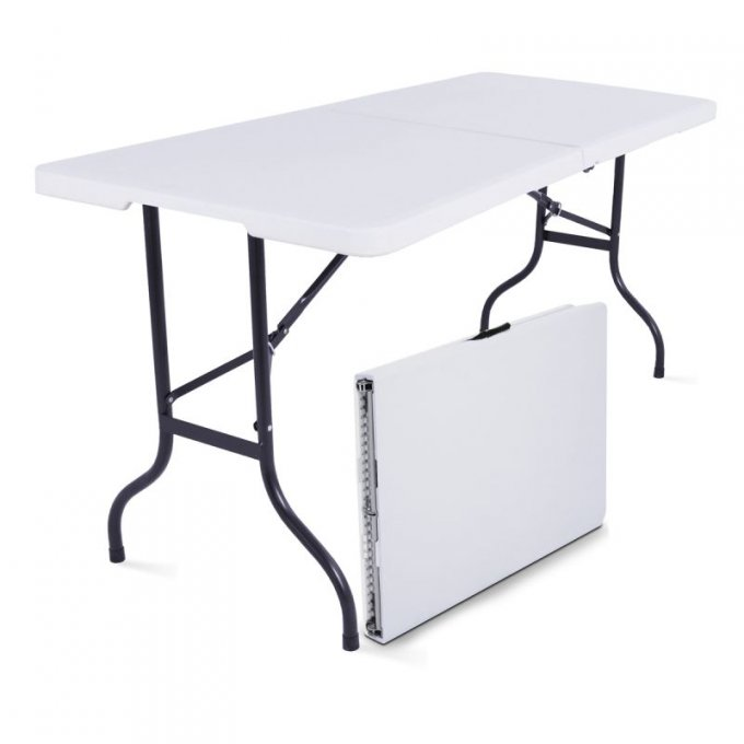 Table rectangulaire 6-8 personnes